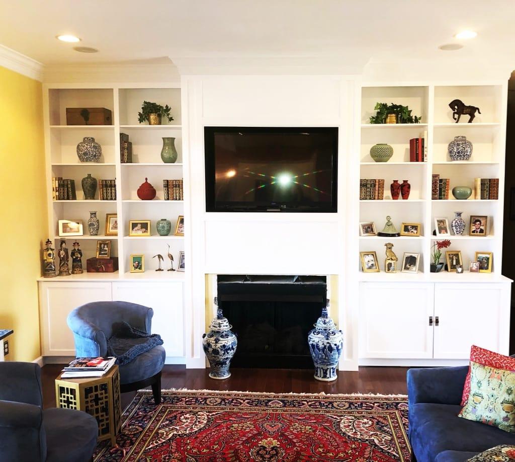 Living Room Media Center - Aaron & Co. (1)